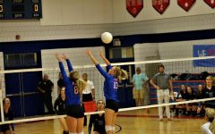 Volleyball Players Dominate Districts