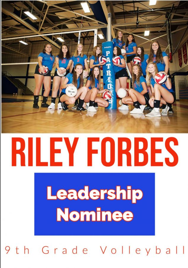 Riley+Forbes%3A+Leadership+Nominee