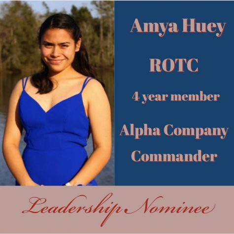 Leadership Nominee: Amya Huey
