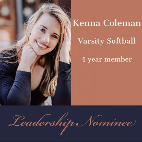 Leadership Nominee: Kenna Coleman