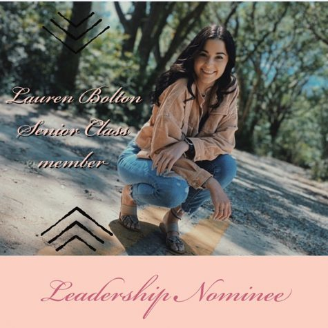 Leadership Nominee: Lauren Bolton