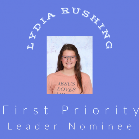 Leadership Nominee: Lydia Rushing