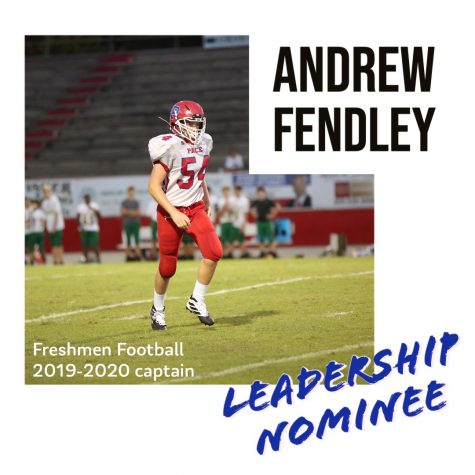 Leadership Nominee: Andrew Fendley