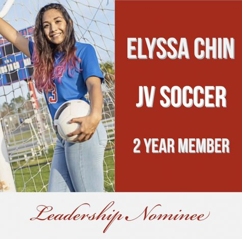 Leadership Nominee: Elyssa Chin