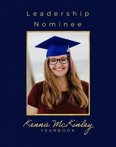Leadership Nominee: Kenna McKinley