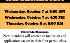 Beta Club: 9th grade Members