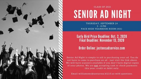 Senior Ad Night - September 24